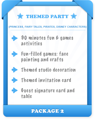 Themed Party $3,000 - Package 2
